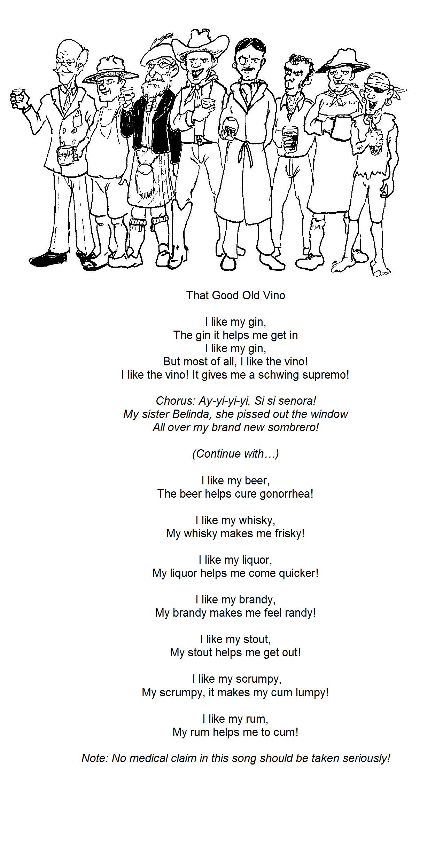 That Good Old Vino