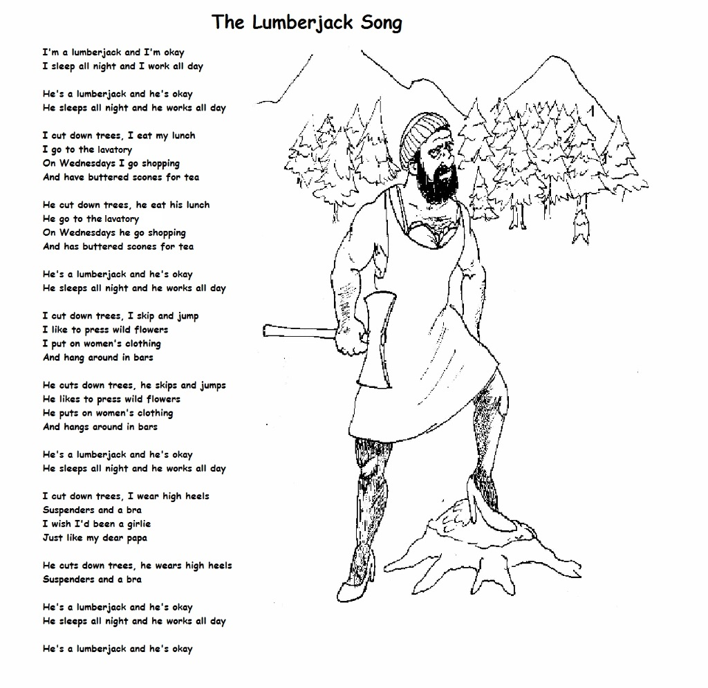 The Lumberjack Song