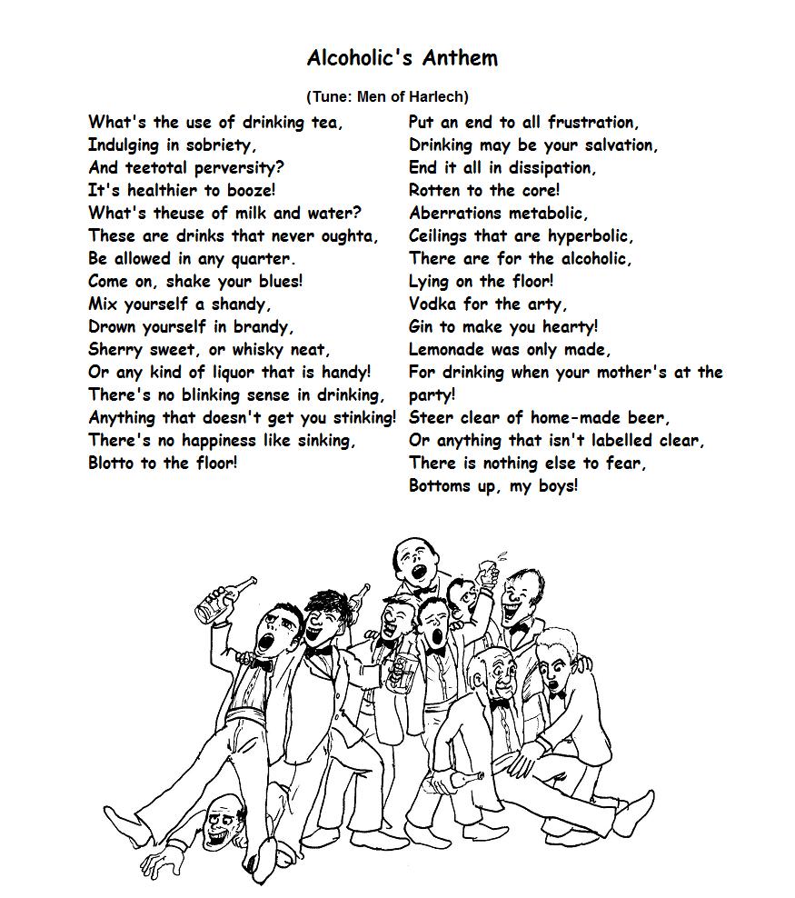 Alcoholic's Anthem